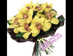 11 Орхидей с зеленью