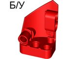 ! Б/У - Technic, Panel Fairing # 2 Small Smooth Short, Side B, Red (87086 / 4558873 / 6138746) - Б/У