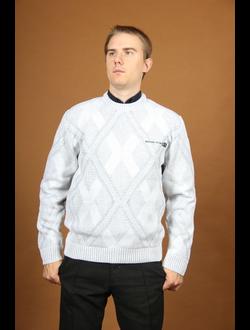 """Весенне-осенний мужской свитер Модель 744 """"Ранняя весна"""""""