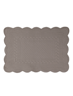 Салфетка под тарелку стеганая RECT PADDED PLACEMAT BOUTIS PEPPER 48X34CM COTTON 33052