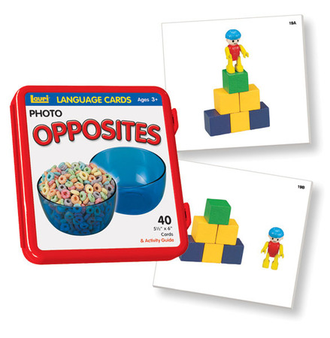 Opposites Language Cards