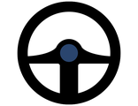 Tyapko Bridge steered wheels Logo