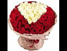 Букет красных роз (65 роз)