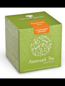 БАД Фиточай «Аминай Эм» Трава жизни зеленая упаковка  500021    30 фильтр-пакетов