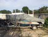 Тенты на лодки BERKUT (БЕРКУТ)  по выбору модели, транспортировочные и для стоянки
