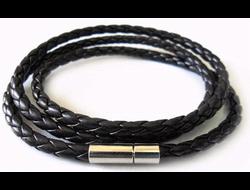 Кожаный браслет Wrap