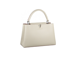 Louis Vuitton Capucines White