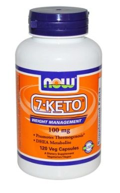 Now 7-Keto 100 мг 120 капсул
