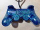 "№009 ""Ocean Blue"" Оригинальный SONY Контроллер для PlayStation 2 PS2 DualShock 2"