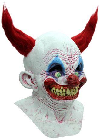 маска, клоун, весёлый, страшная, ужасная, жуткая, смешная, улыбка, на голову, латексная, mask, ужасы