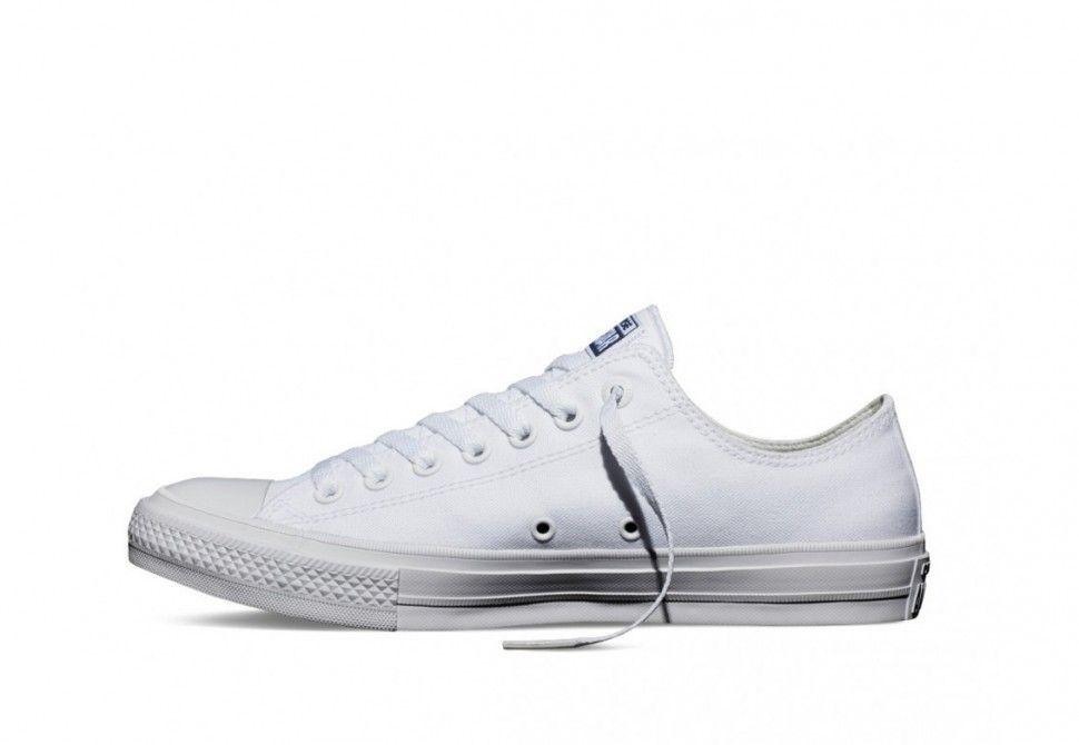 Купить кеды converse chuck taylor all star 2 белые в Санкт ... e6bea7d9db6