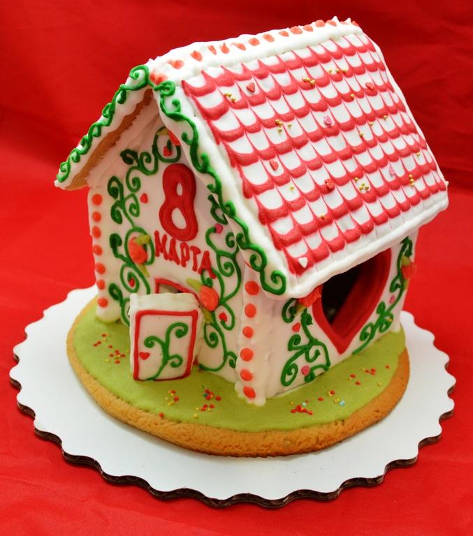 Пряничный домик в подарок 86