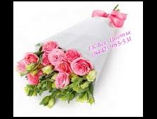 Букет из Эустомы розовый