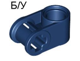 ! Б/У - Technic, Axle and Pin Connector Perpendicular, Dark Blue (6536 / 4227273) - Б/У