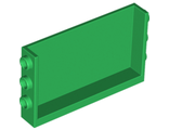Panel 1 x 6 x 3 with Studs on Sides, Green (98280 / 6251117)