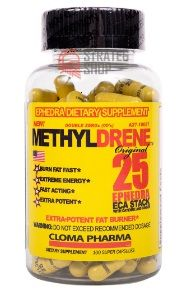 Cloma Pharma Methyldrene ECA 100 капсул