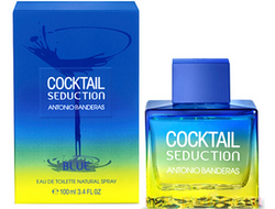 Cocktail Seduction Blue for Men Antonio Banderas 100ml