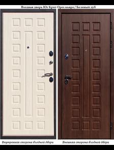 Входная дверь Йошкар Ола Юг Крит Орех кьяро/Бел. дуб VINORIT
