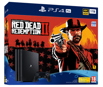 РlayStation 4 PRO (1TB)+Red Dead Redemption 2