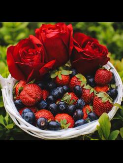 Букет на день рождения маме из фруктов, цветы подарить девушке 14 февраля