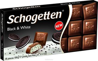 Schogetten  Black & White Chocolate