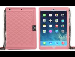 Чехол-книжка Chanel Vogue Pink Bag для iPad Air