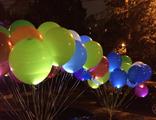 """Светящиеся шары с гелием """"Ассорти"""""""