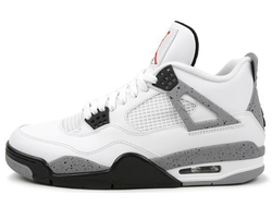 Air Jordan IV Retro White-Cement (41-45) арт-009
