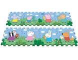 Развивающий детский коврик пазл Peppa Pig Свинка Пеппа и друзья