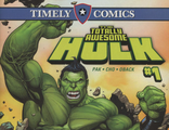 Timely Comics: Totally Awesome Hulk #1