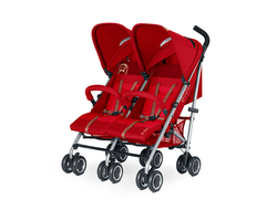 Коляска для двойни Cybex Twinyx Hot Spicy