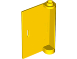 Door 1 x 3 x 4 Left - Open Between Top and Bottom Hinge, Yellow (58381 / 4580434 / 6119117)