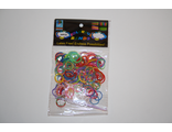 Резиночки разноцветные 600 шт