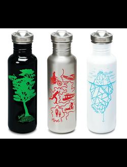 Бутылки для воды Klean Kanteen Graphics купить в интернет магазине kleankanteen.ru.com