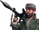 Афганский пуштун - коллекционная фигурка 1/6 Afghanistan Civilian Fighter 2 - Arbaaz The Soviet–Afghan War 1980s I80112 - DID