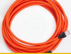 Текстильные провода для LAN