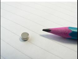 Неодимовый магнит дискоoбразный маленький, разные размеры