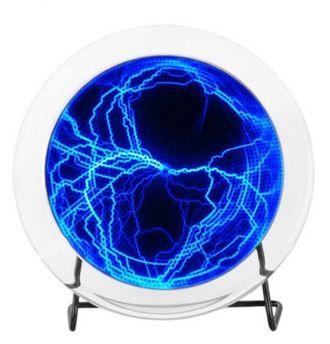 плазма диск, плазменный, молнии, laser plate, plasma disk, Lumin disc, с молниями, светящийся, led