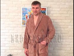 Халаты мужские из бамбука