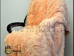 Бамбуковый плед экстра-класса Песочный 160х210