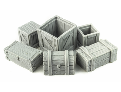 Boxes and chests (unpainted)