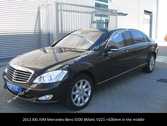 Elongated Mercedes-Benz S500 V221 4Matic +500mm, 2011 YP