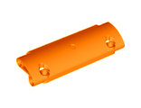 Technic, Panel Curved 11 x 3 with 2 Pin Holes through Panel Surface, Orange (62531 / 4580022)