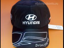 Бейсболка с логотипом HYUNDAI (зима)