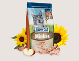 Happy Cat Minkas с птицей 10 кг