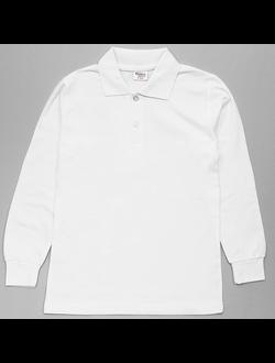 Рубашка-поло (белый) | арт.26738