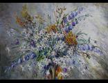 "Круглова Светлана. ""Летний букет"",  холст / масло,  50 х 70 см.,  2016 г."