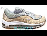 Кроссовки Nike Air Max 98 бело-бежевые