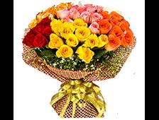 Букет из 51 розы Идеальный сбор роз