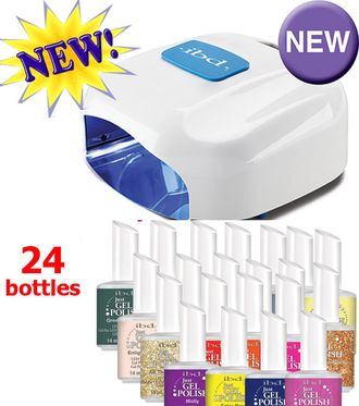 Ibd LED/UV гибридная лампа + 24 шт ibd Just Gel Polish на выбор.